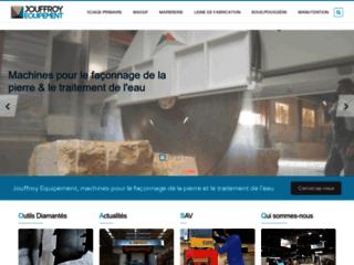 Détails : Equipement pour la taille de pierre Jouffroy