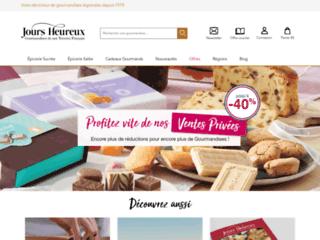 Détails : Jours Heureux : vente de chocolats en ligne