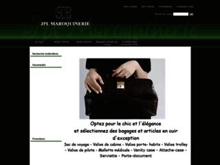 Détails : JPL Maroquinerie : bagages maroquinerie de luxe