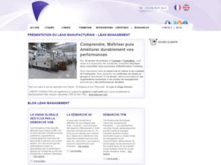 Détails : lean manufacturing et Jubert Consulting