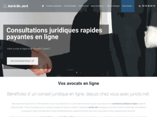 Détails : Juriclic Avocats en ligne : consultation juridique