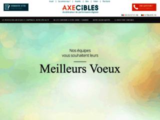 Axecibles agence web notaire