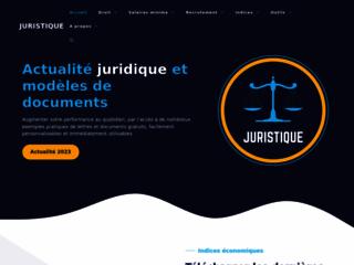 Site web d'actualité et d'informations juridiques