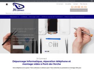 Détails : JV Connect, Dépannage informatique à Pont-de-l'Arche