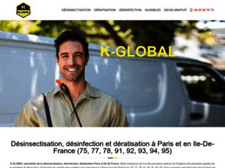 Dératisation, désinfection et désinsectisation Paris et Ile de France
