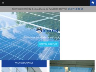 Détails : K-ronet, société de nettoyage industriel, Burnhaupt-le-Haut