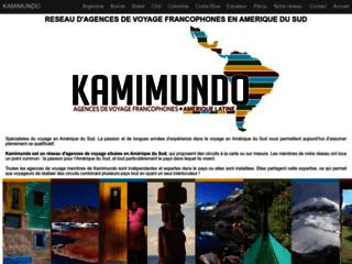 Détails : Kamimundo agences de voyage francophones en Amerique du Sud