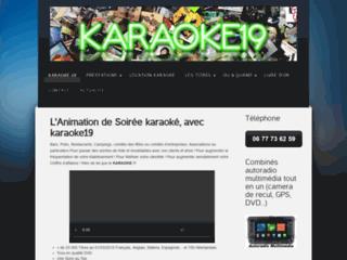 Karaoké, animation, location