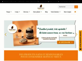 Détails : Karethic : produits cosmétiques au pur karité
