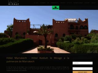 Détails : Kasbah le Mirage, hôtel à Marrakech