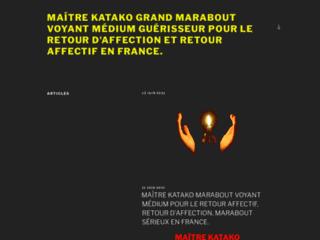 Détails : MAÎTRE KATAKO-GRAND MARABOUT VOYANT MÉDIUM GUÉRISSEUR AFRICAIN,RETOUR D'AFFECTION,RETOUR AFFECTIF,MARABOUT SÉRIEUX NANTES.