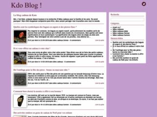 Détails : Kdoblog : des idées cadeaux