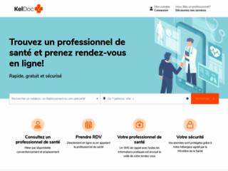 KelDoc: le site approprié pour prendre rendez-vous avec un médecin