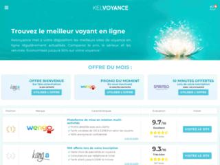 KELVOYANCE, guide web sur les meilleurs sites de voyance en ligne