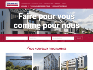 Détails : Kermarrec Promotion - Immobilier neuf pour particuliers et professionnels