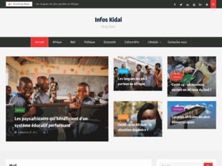Kidal Info | Portail de l'actualité francophone au Mali et en Afrique