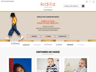 Détails : Kidiliz, l'e-boutique référence des vêtements pour votre petite fille