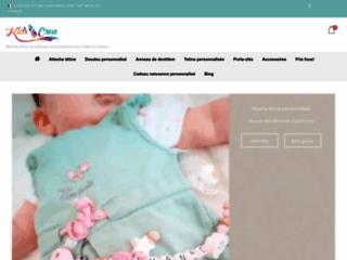 Détails : Attache tétine kids and Crea