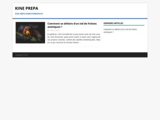 Détails : Prépa kiné en ligne - www.kine-prepa.com