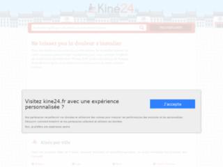 Détails : Kiné24 - l'annuaire des kinésithérapeutes