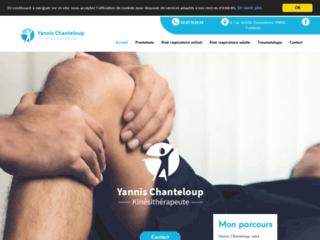 Détails : Yannis Chanteloup, kinésithérapeute à Cambrai