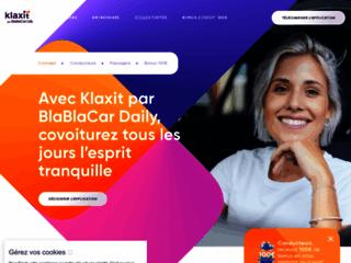 site web Klaxit