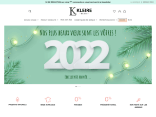Les produits cosmétiques de la boutique Kheire