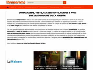 Le site Komparama pour choisir vos produits