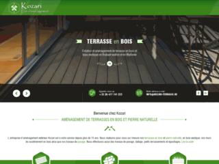 Entreprise spécialiste des travaux de création de terrasses et des terrasses