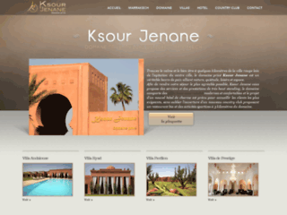 Villa prestige Marrakech