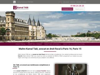 Maître Kamal Tabi, avocat en droit des affaires à Paris 16