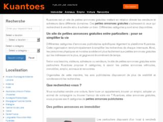 Détails : Site de petites annonces gratuites
