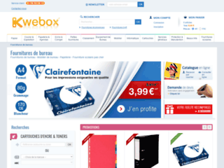 Kwebox - les fournitures scolaires et de bureau en ligne