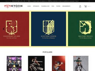 Détails : Kyojin store, site spécialisé l'attaque des titans
