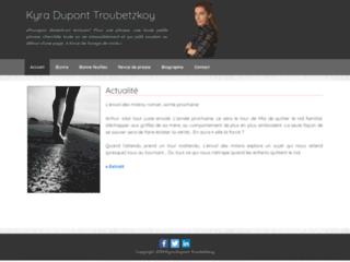 Détails : K.Dupont Troubetzkoy, romancière franco-suisse