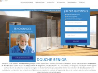 La douche sénior par Confort Impérial, douche senior Paris