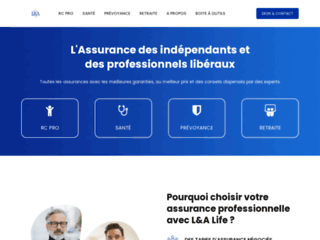 Détails : L&A life - RC Pro, Santé, Prévoyance, Retraite