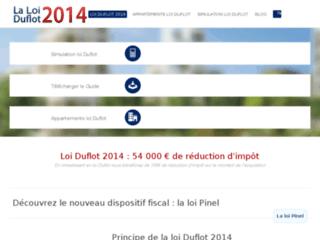 Investissement immobilier et défiscalisation loi Duflot