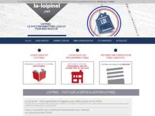 La loi Pinel passée au peigne fin sur www.la-loipinel.net