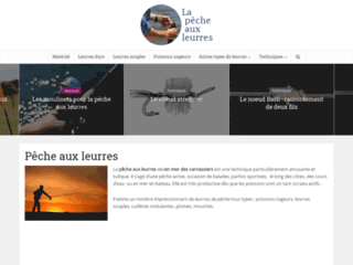 Détails : La pêche aux leurres des carnassiers