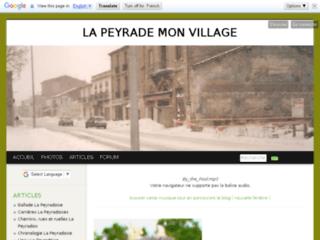 La Peyrade - Mon Village