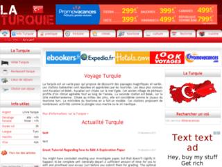 Détails : Voyage et découverte de la Turquie