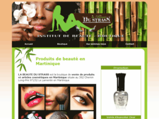 Détails : La Beauté du Strass, vente de produits de soins en Martinique