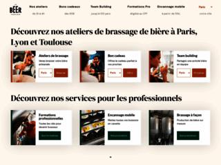 La Beer Fabrique : atelier de brassage de bière à Paris