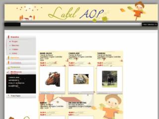 Détails : Catalogue des labels AOP et AOC