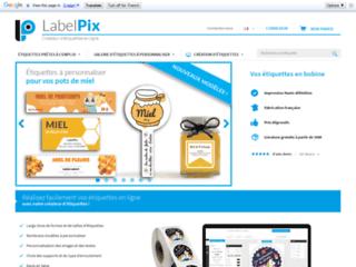 Création d'étiquettes en ligne avec LabelPix