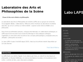 Détails : Théâtre et Philosophie (LAPS)