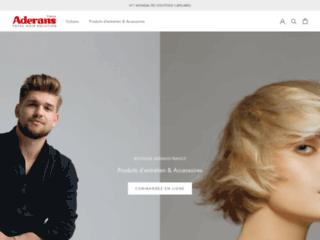 Boutique Aderans France, numéro 1 mondial des solutions capillaires