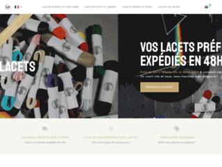 Laceter, boutique de Lacets avec plus de 300 références