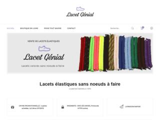 Détails : Lacet génial - Lacet élastique